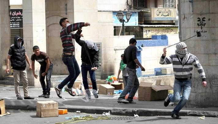 El-Halil'de Çatışma Çıktı; Çok Sayıda Yaralı Var
