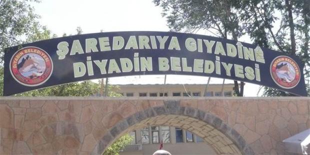 Dadin Belediyesi'nin Kürtçe Tabelası Geri Kondu