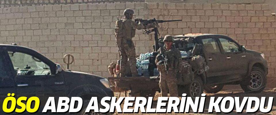 ÖSO ABD Askerlerini  Kovdu