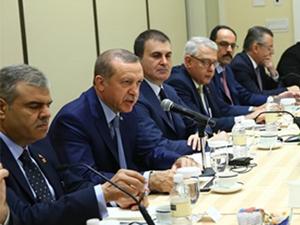 Erdoğan  Siyonist Lobi ile Görüştü