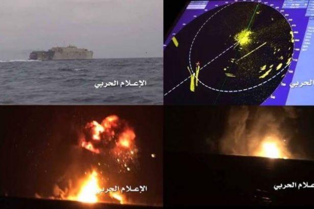 Ensarullah, Birleşik Arap Emirlikleri'nin Savaş Gemisini İmha Etti