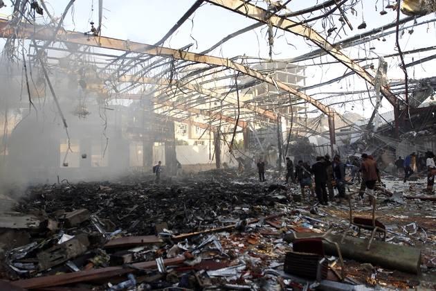 Suudi Arabistan Yanlışlıkla Vurmuş