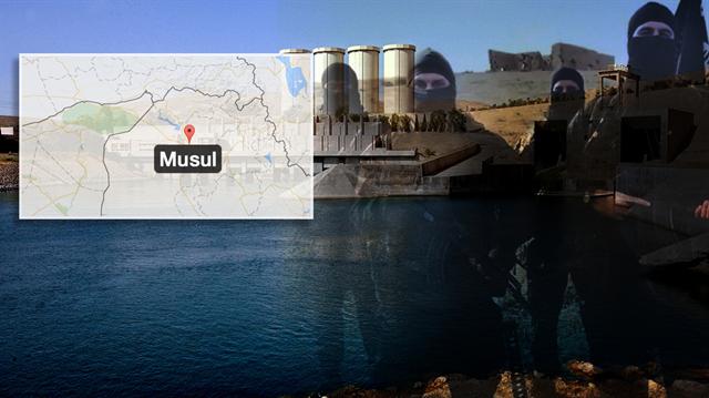 Tekfirciler Musul'da Köprüleri Yıkıyor
