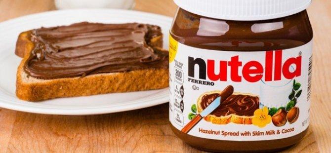 Nutella'nın Satışı Durduruldu