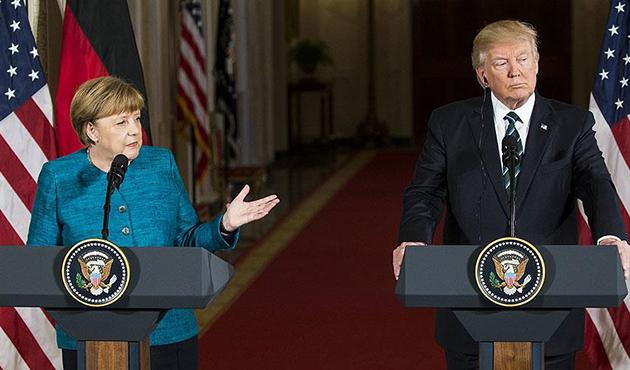 Amerika Ve Almanya Birbirine Girdi