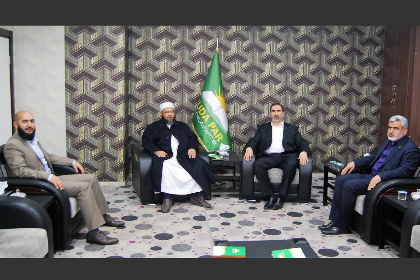 Cemaat-i İslami Milletvekilinden HÜDA PAR'a Ziyaret