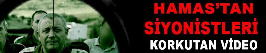 Hamas'tan Siyonistleri Korkutan Video