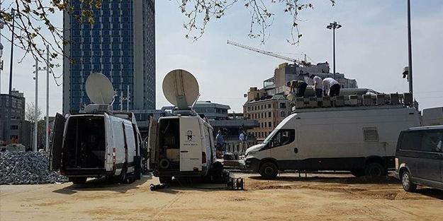 BBC ve CNN Araçları Taksimde Hazır Bekliyor !