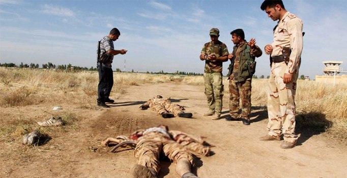 DEAŞ  Kerkük'te ABD  Askerlerine Saldırıdı