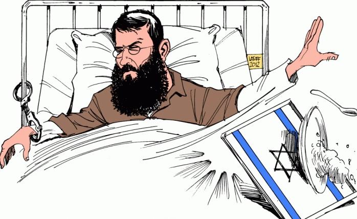 Filistinli Esirlerin  Açlık Grevi 26. Gününde