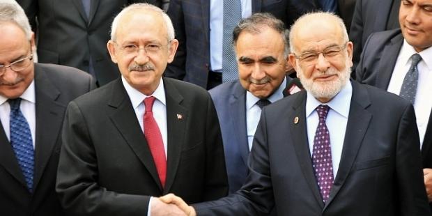 CHP'den Saadet Partisine Ziyaret
