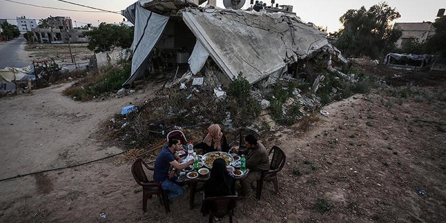Gazze'de İftar (FOTO)