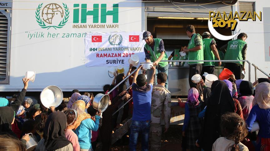 İHH'dan Suriye'ye Can Suyu