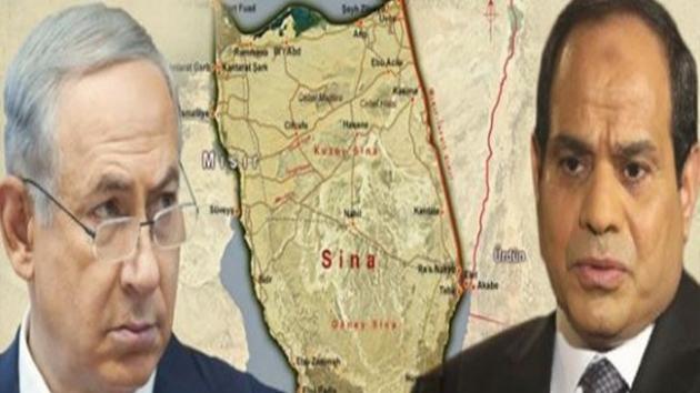 Darbeci Sisi Sina'yı İsrail'e Satacak İsrail Gazze'yi İşgal Edecek !