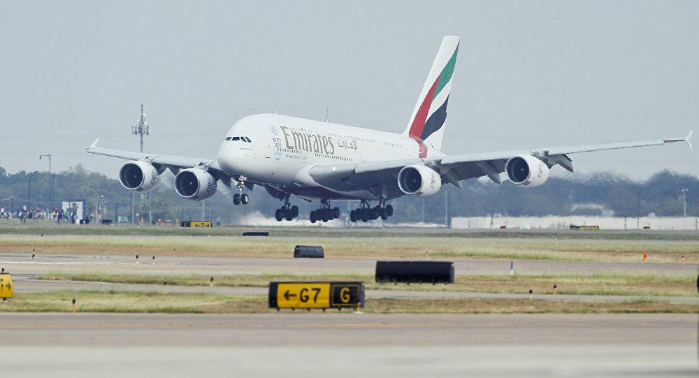 Emirates Havayollarına  Yasak