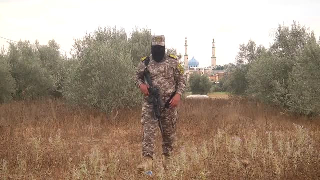 Gazze Sınırında Ramazan Nöbeti (Video)