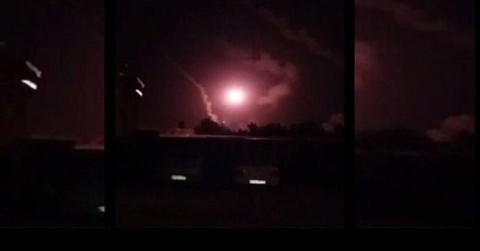 İran'dan  Füzeli Saldırı