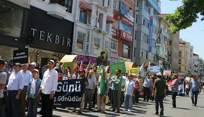 İstanbul'da Dünya Kudüs Günü (FOTO)