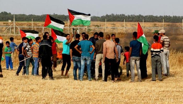 Gazzeliler 'Öfke Uyarısı' Gösterilerine Yeniden Başladı