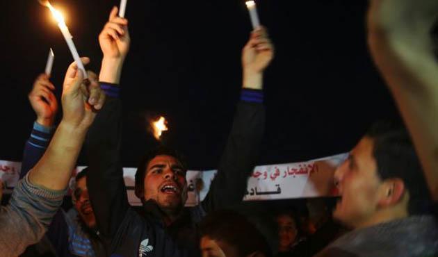 Gazze'de Abluka Karşıtı Protestolar
