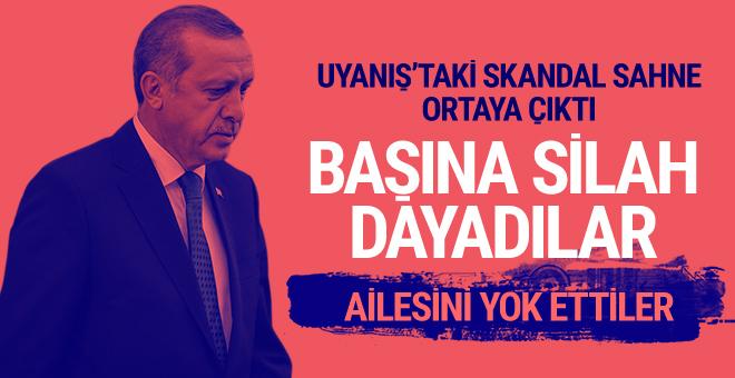 Uyanış Adlı  Filimde Erdoğan'ın Başına Silah Dayadılar