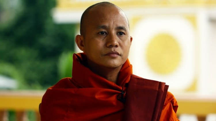 Budist Rahip Müslümanlara Nefret Kustu