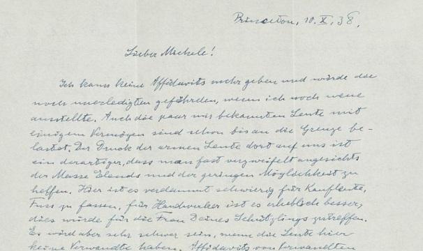 Einstein'ın mektubu 31 bin dolara Satıldı