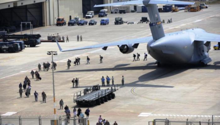 ABD Hava Üssüne Saldırı