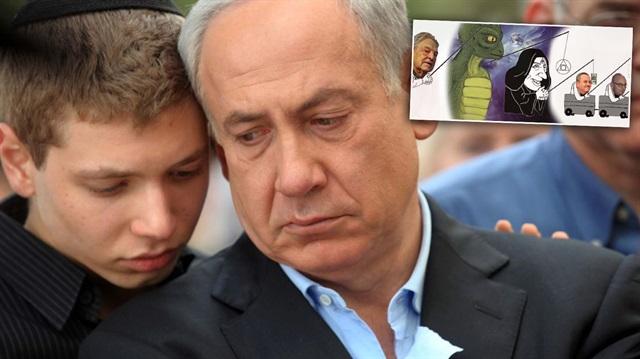 Netanyahu'nun Oğlu Ortalığı Karıştırdı
