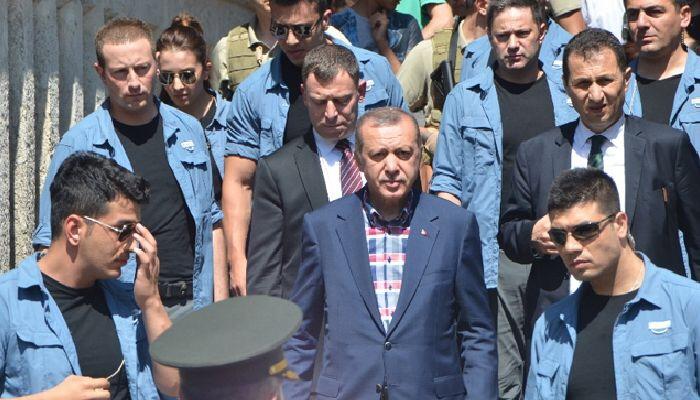 ABD, Erdoğan'ın Korumalarına Silah Satışını Durdurdu!