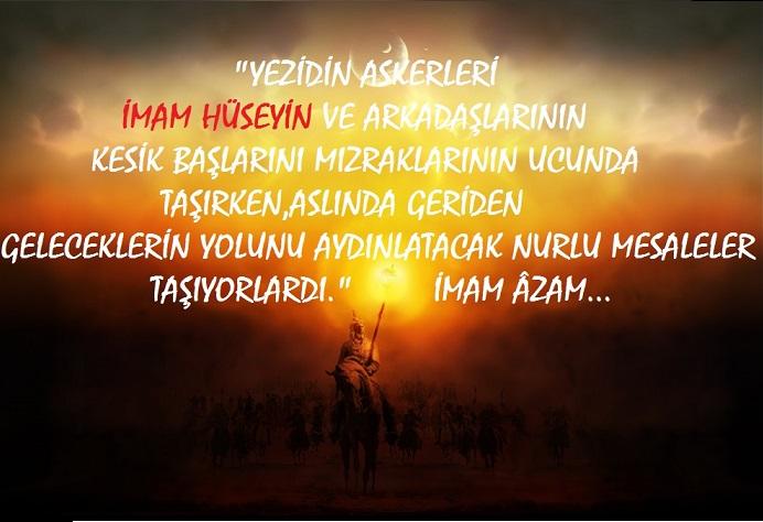 """""""Şehadet Baltasını Yezid'in Boynuna Astı"""""""