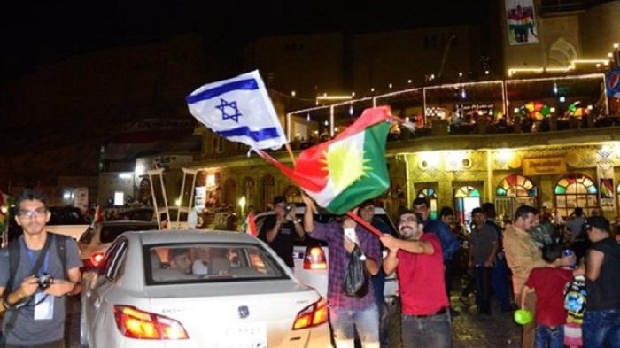 İsrail Bayraklı Kutlamalar Başladı !