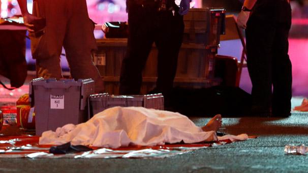 Las Vegas'ta Konsere Silahlı Saldırı