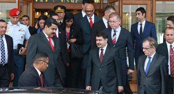 Nicolas Maduro Ankara'da