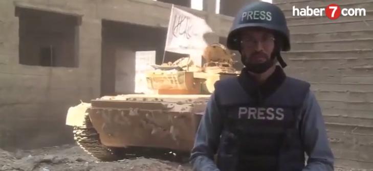 Tank Canlı Yayında Vuruldu (VİDEO)