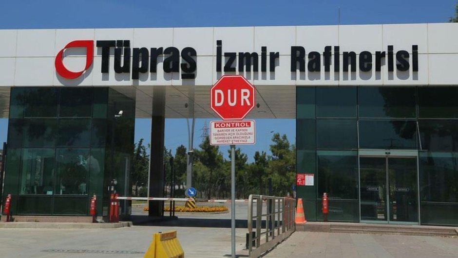 Tüpraş'ın İzmir'deki Rafinerisinde Patlama