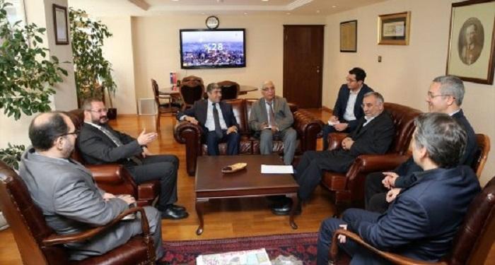 İran Büyükelçisi AA'yı Ziyaret Etti