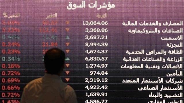 Suud'da Borsa Çöktü