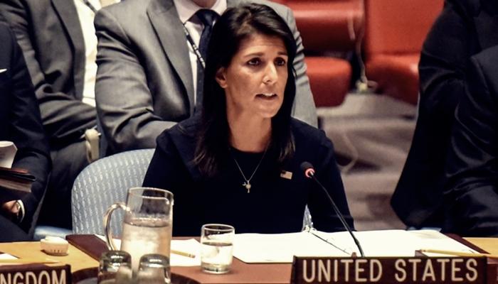 ABD'nin BM Temsilcisini Fena İşlettiler