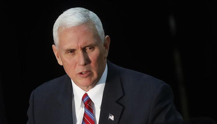 ABD Başkan Yardımcısı Pence Siyonist Meclisinde Protesto Edildi