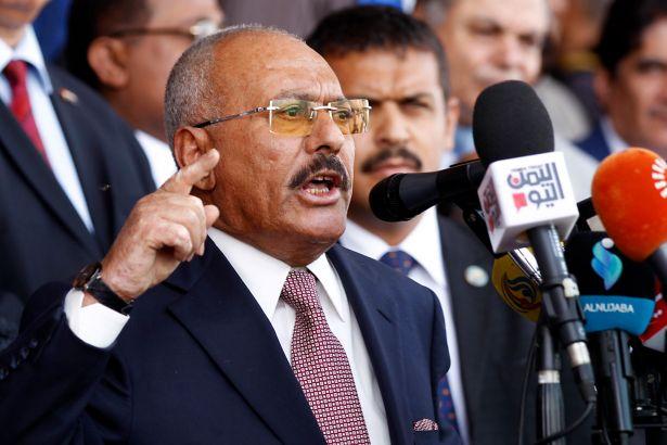 Yemen'in Eski Devlet Başkanı Salih'ten Suud'a Çağrı