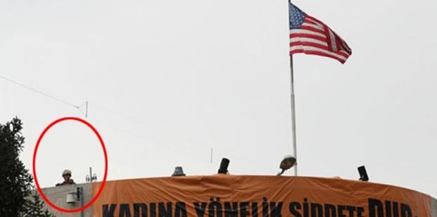 Ankara'nın  Göbeğinde ABD Askerleri !