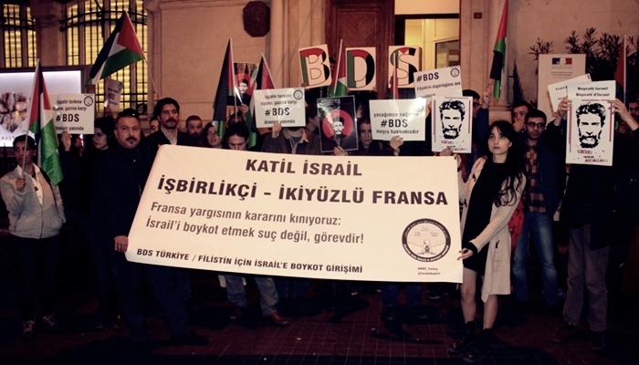 Valilik Filistin'e Destek  Eylemine İzin Vermedi !