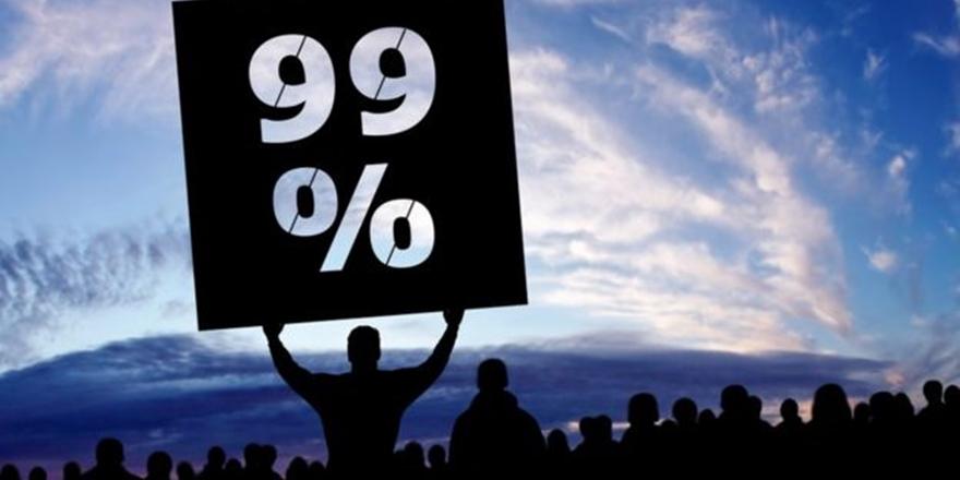 Dünyanın Yüzde 1'i Yüzde 82'sine Sahip !