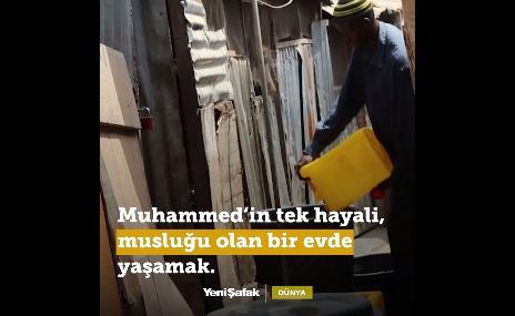 Nijeryalı Muhammed: En Büyük Hayalim ... (VİDEO)
