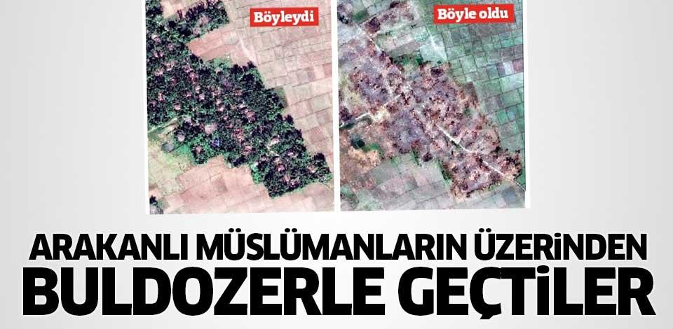 Arakanlı Müslümanların Üzerinden Buldozerle Geçildi!