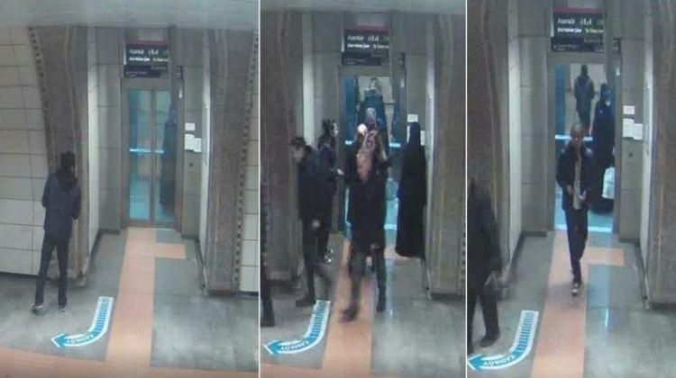 Metroda Başörtülü Kadına  Saldırı!