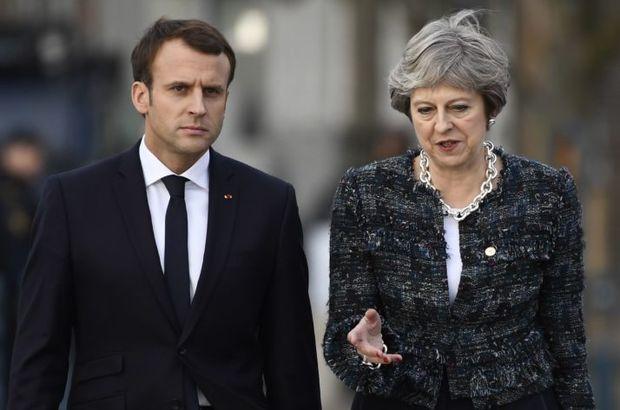 İngiltere Başbakanı May'den Suriye Açıklaması