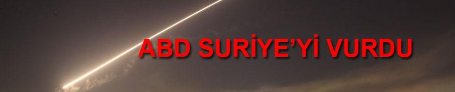 ABD Suriye'de  Sivilleri Vurdu