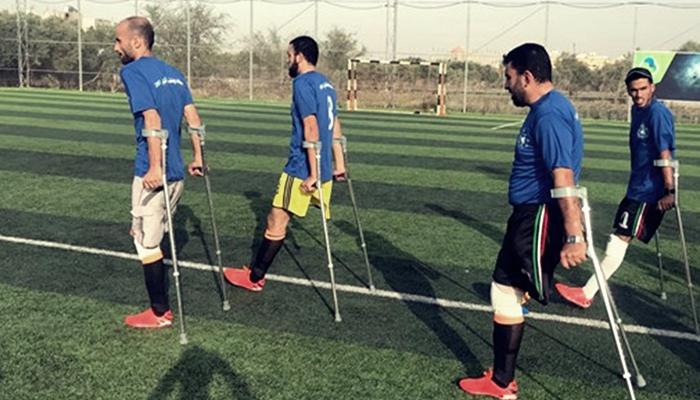 Filistinli Gaziler Futbol Takımı Kurdu